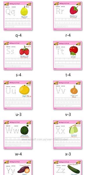 26 штук, Цифровые карточки Правописание на Английском, на печать