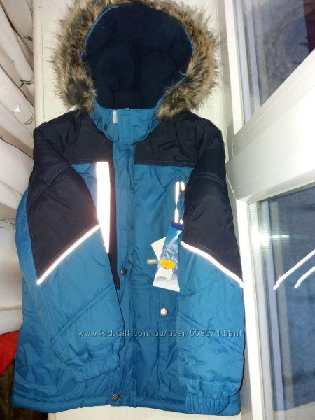Куртка Lenne зима 128 новая Распродажа