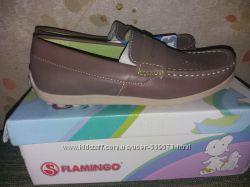 Мокасины Flamingo кожа 34 р-р 22. 5 см