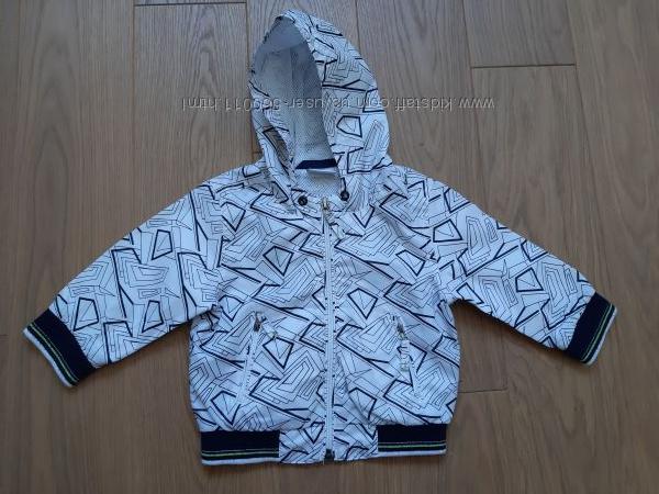 Деми или летняя куртка Next 9-12 месяцев 80 размера бу