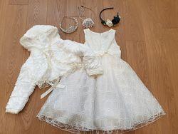 Красивые платье и болеро рост 104 размер бу