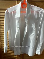 Рубашка сорочка школьная белая GEORGE 122-128.