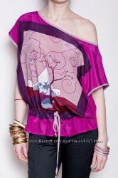 блуза нутуральный шелк италия