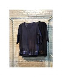 Шикарная натуральная шёлковая блуза Украина Италия