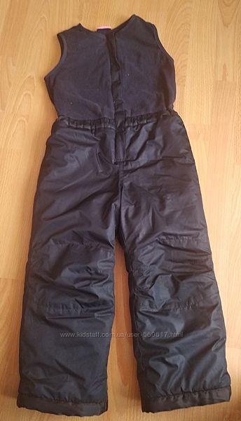 Утеплённые штаны 5-6 лет 110-116