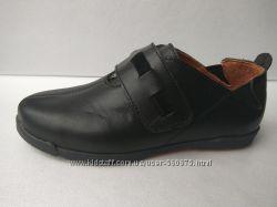 Последняя пара. 32 р. Стильные туфли. Кожа. чёрные.