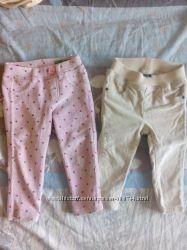 скинни вельветовые джинсы  GAP 12-18м