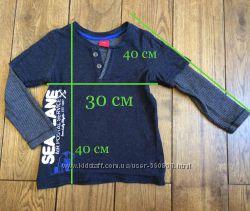 Регланы S. oliver, свитер Berry wear на мальчика 2-3 года, Next