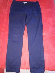 Модные коттоновые брюки 38р