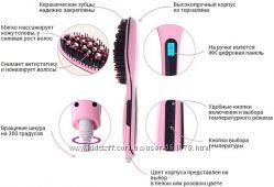 Расческа-выпрямительFast hair straightener с дисплеем