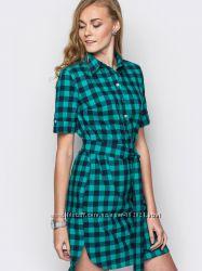 Платье-рубашка р. 48