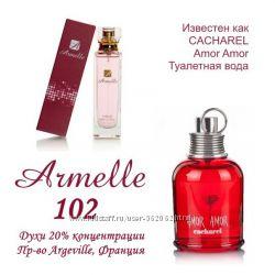 Духи  102 . Направленность на аромат Cacharel - Amor Amor
