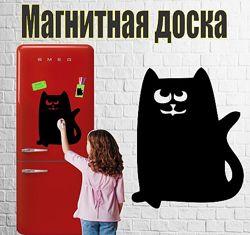 Магнитная доска на холодильник Кот Ашот 30х35см