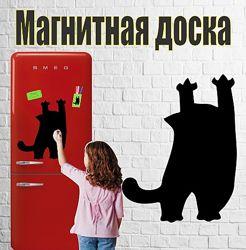 Магнитная доска на холодильник Кот Саймона 30х45см
