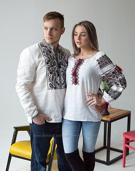 Парная вышиванка &ldquoХлібороб и Дружина хлібороба