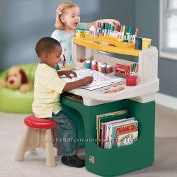 Парта стол для творчества со стулом Step2 Activity Desk США