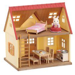 Набор Calico Critters Cosy Cottage Уютный домик шоколадного Кролика 5242