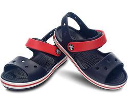 Босоножки детские крокс оригинал Crocs Kids Bayaband Sandal С9, С11