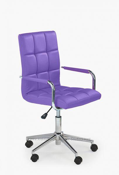 Крісло компютерне підліткове Halmar Gonzo 2 фіолетовий