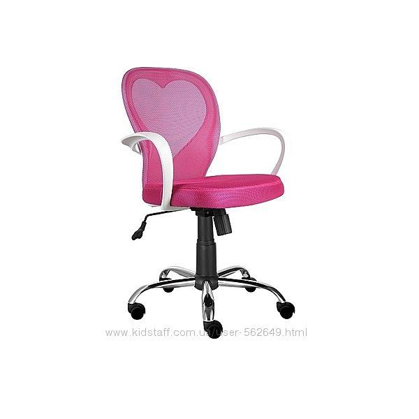 Крісло компютерне Signal Daisy рожевий/сірий