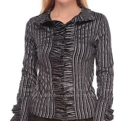стильная женская блуза рубашка Basechen