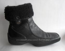 Зимние ботиночки Gabor. Кожа