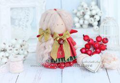 Рождественский ангелок. Ручная работа