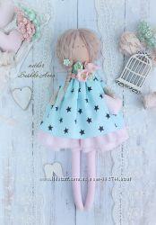 Интерьерная кукла в стиле Тильда.