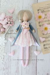 Кукла ангел в стиле Тильда