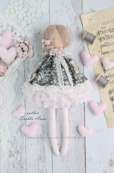 Ангел в стиле Тильда кукла.