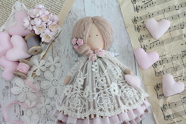 Интерьерная кукла в стиле Тильда, ангел