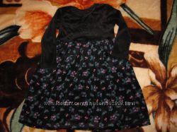 Роскошное платье Marks&Spenser на 3-4 года.