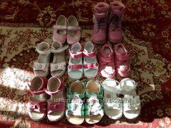 Много обуви для девочки 25-27р 16-17см