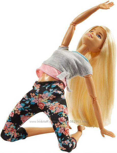 Кукла Barbie Made to Move Двигайся как Я Фитнес FTG81