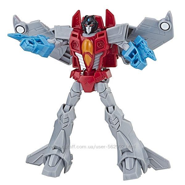 Transformers Cyberverse Warrior Class Starscream Старскрим 14 см Hasbro