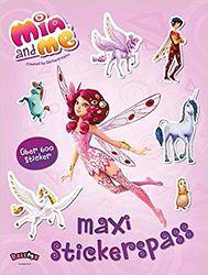 Mia and me Книга с головоломками, раскрасками, стикерами. Balloon Германия