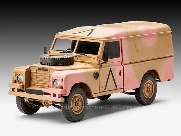 Revell British 4x4 Off-Road Vehicle SeriesIII 109 /LWB 135 03246R Италия
