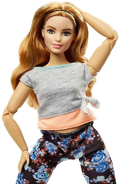 Барбі Barbie made to move Барби йога безграничные движения Mattel FTG84