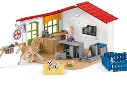 Schleich 42502 Ветеринарна клініка для домашніх тварин Veterinarian practic
