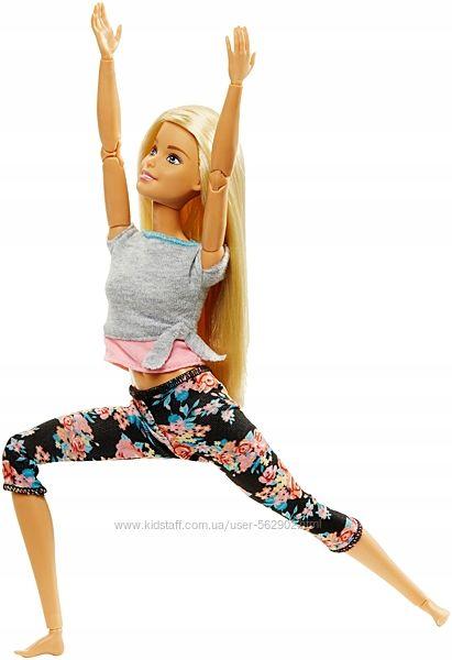 Кукла Барби Безграничные движения. Барби Йога гимнастка Блондинка