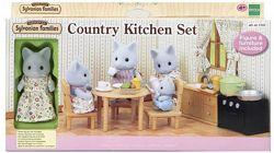 Sylvanian Families 5164 - набір з фігуркою Кішки Мами Кухня Epoch