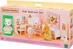 Sylvanian Families 5377 - Меблі для дитячої кімнати з фігуркою ведмедика