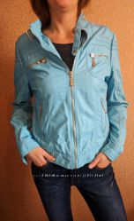 классная куртка кожзам бренд mas fashion іспанія