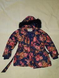 Демисезонная курточка с подкладкой для девочки