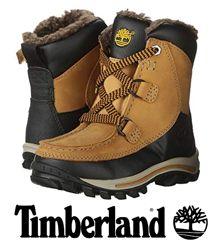 Timberland зимние сапоги унисекс кожа рр30 31 молния -30С