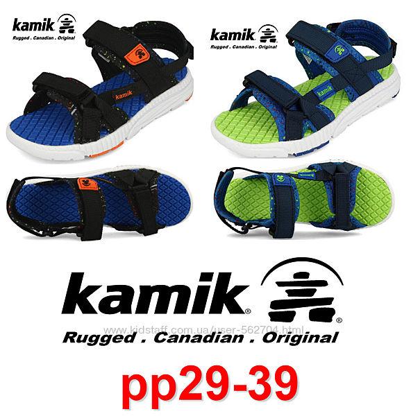 Kamik сандалии легкие, моющиеся удобные рр30-38 Бесплатная Доставка