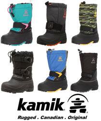 Kamik очень теплые зимние сноубутсы 899грн