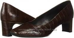Туфли кожаные под крокодила GEOX  р. 37, 5 UK 4, 0