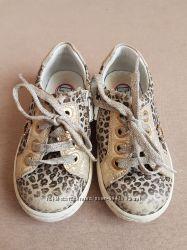 кожаные кеды туфли tiflani 23