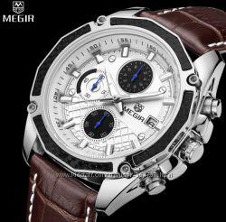 Мужские классические наручные часы Megir Techno Супер цена